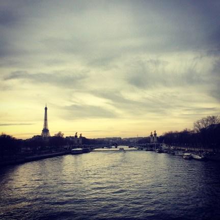 Tour Eiffel and Seine