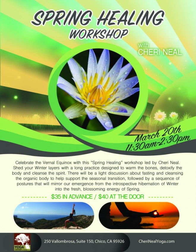 Spring into healing 2016.2