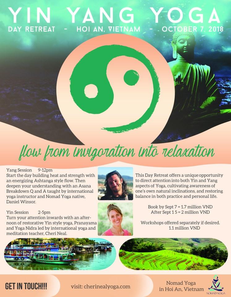 yin yang yoga retreat Vietnam