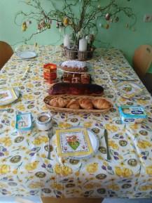 Easter Breakfast Table