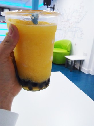 London food Bubble Tea Honey Peach (2)