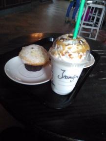 Starbucks Lemon Poppy Seed Muffin Frappucino