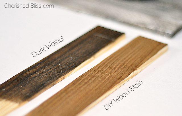 Vinegar And Steel Wool Stain On Pine