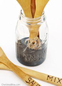 Mason Jar Utensil Holder Tutorial - Cherished Bliss