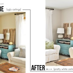 How To Paint Your Living Room Console Table Ideas Ceilings The Mess Free Way Cherished Bliss Do You Hate Painting Try This Tutorial On