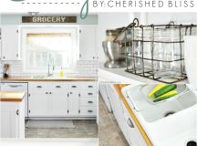 Farmhouse Cottage Kitchen Reveal - Cherished Bliss
