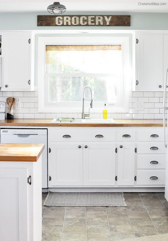 Farmhouse Cottage Kitchen Reveal