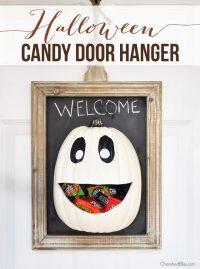 DIY Halloween Candy Door Hanger + Recipe - Cherished Bliss