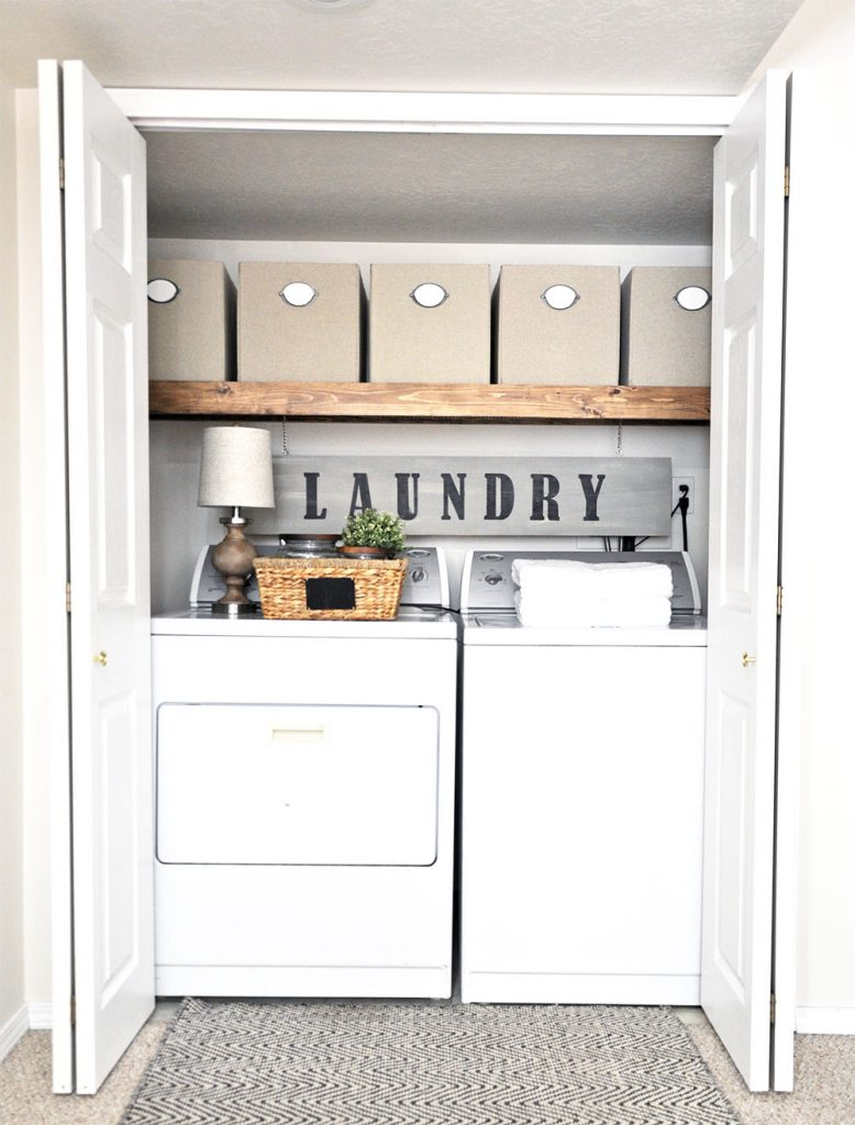 Why I Love Our Tiny Laundry Nook.