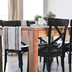Farmhouse Dining Room Chairs Sand Bag Chair Black Sunday Shopping Guide Cherished Bliss This Modern Table Is The Perfect Addition To Any Space With