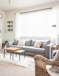 Cherished bliss also minimalist living room decor makeover rh cherishedbliss