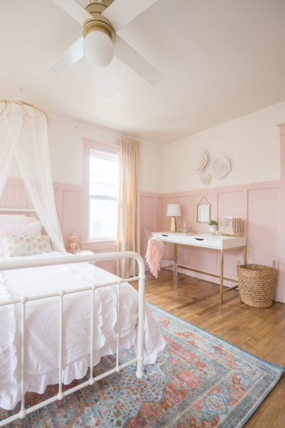 gold and pink girls bedroom ideas Meet The Blogger {Cherished Bliss} - Stacy Risenmay