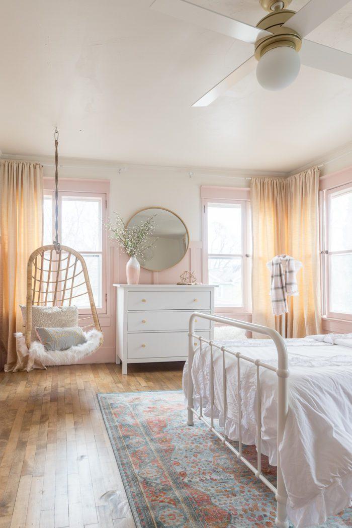Pink Gold Girls Bedroom Decor Ideas Cherished Bliss