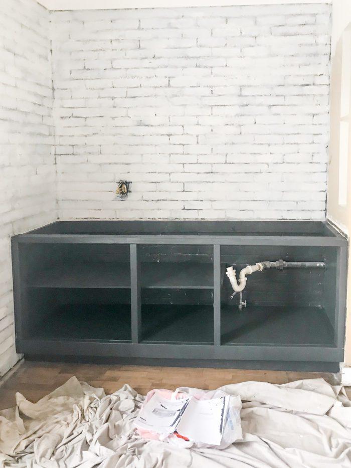 DIY 2x4 Kitchen Cabinets Tutorial - Cherished Bliss