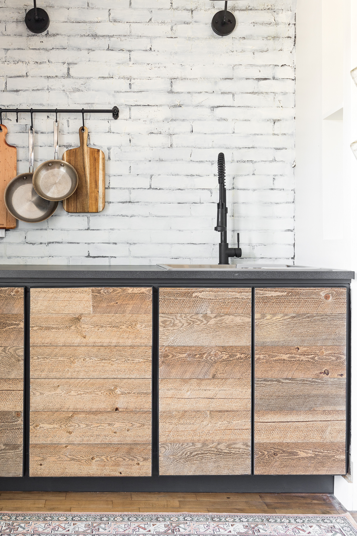 2x4 Kitchen Cabinets : kitchen, cabinets, Rustic, Industrial, Cabinet, Doors, Tutorial, Cherished, Bliss