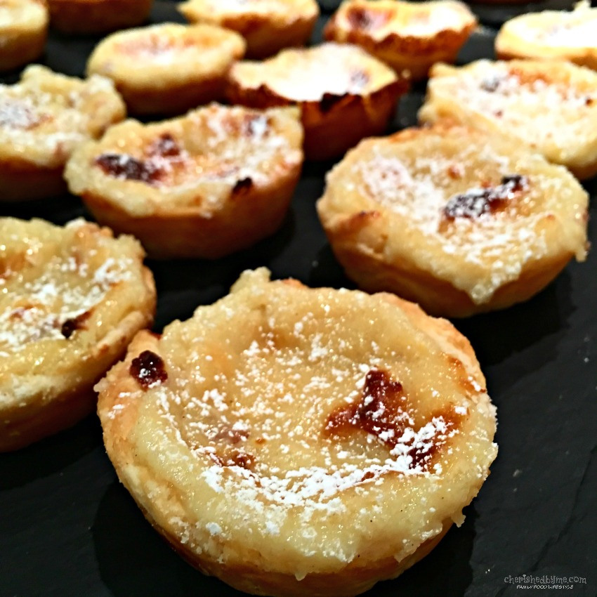 Portuguese Custard Tarts - Cherished By Me