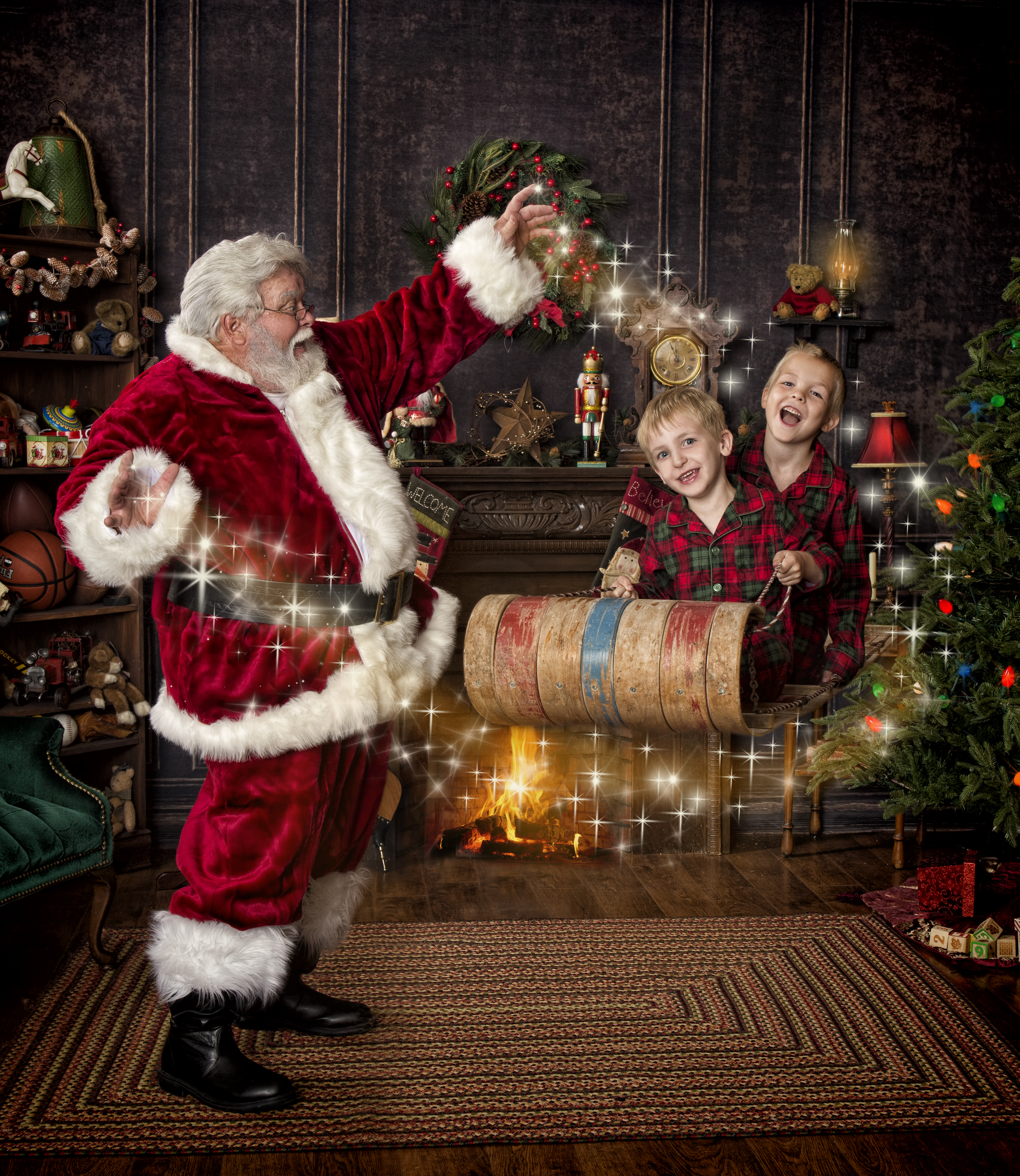 Cherished Moments Photography Santa Experience Sessions