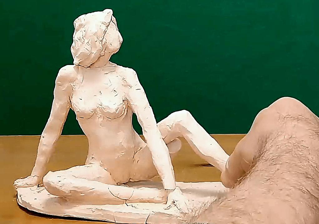 תיקון פסל חמר