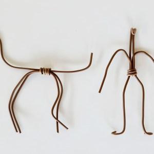 קונסטרוקציות לפסל דמות אדם ודמות בעל חיים