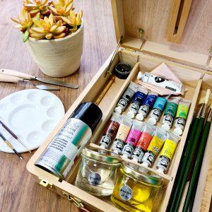 Набор для рисования маслом премиум-класса