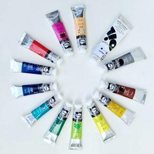 Расширенный набор масляных красок