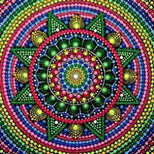 Набор для нанесения акриловых точек Mandala