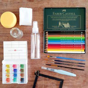 Набор для рисования акварелью