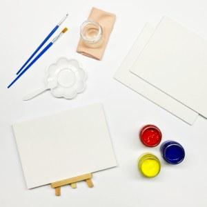 Мини-набор для рисования акриловыми красками