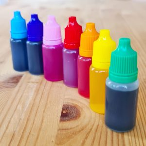 Набор красок для кристаллической эмали