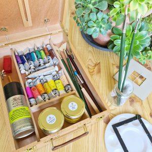Premium oil painting kit