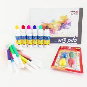 Drawing set for preschoolers