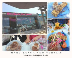 restaurant marseille Manu Beach New Yorkais