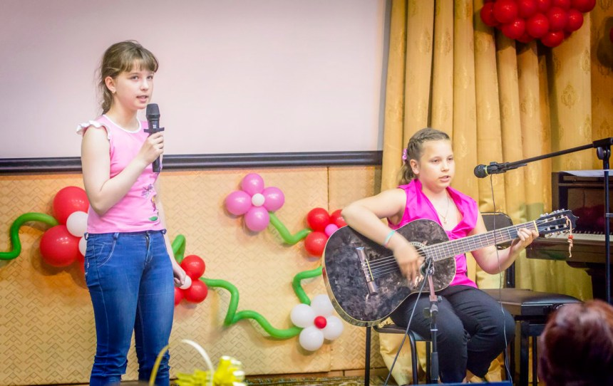 Девочки из ШКАПа.