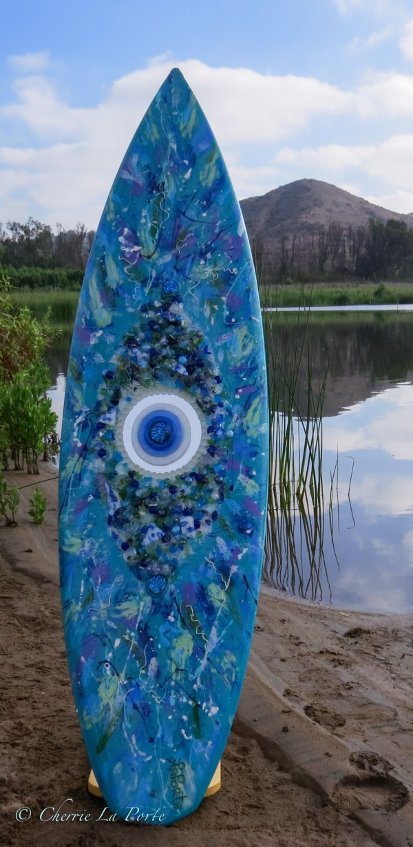 Mosaic Glass Surfboards Cherrie Laporte
