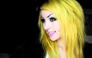 angelica muderotic yellow hair
