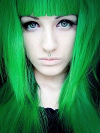Green Hair  Dye / Color, Wigs & Extensions | Cherry Ambition