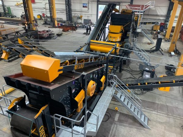 Stone Moving / Crushing Screen Plant Conveyor Belts