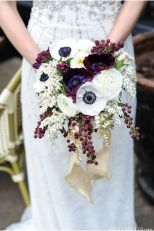 rich jewel tones for a fall bouquet