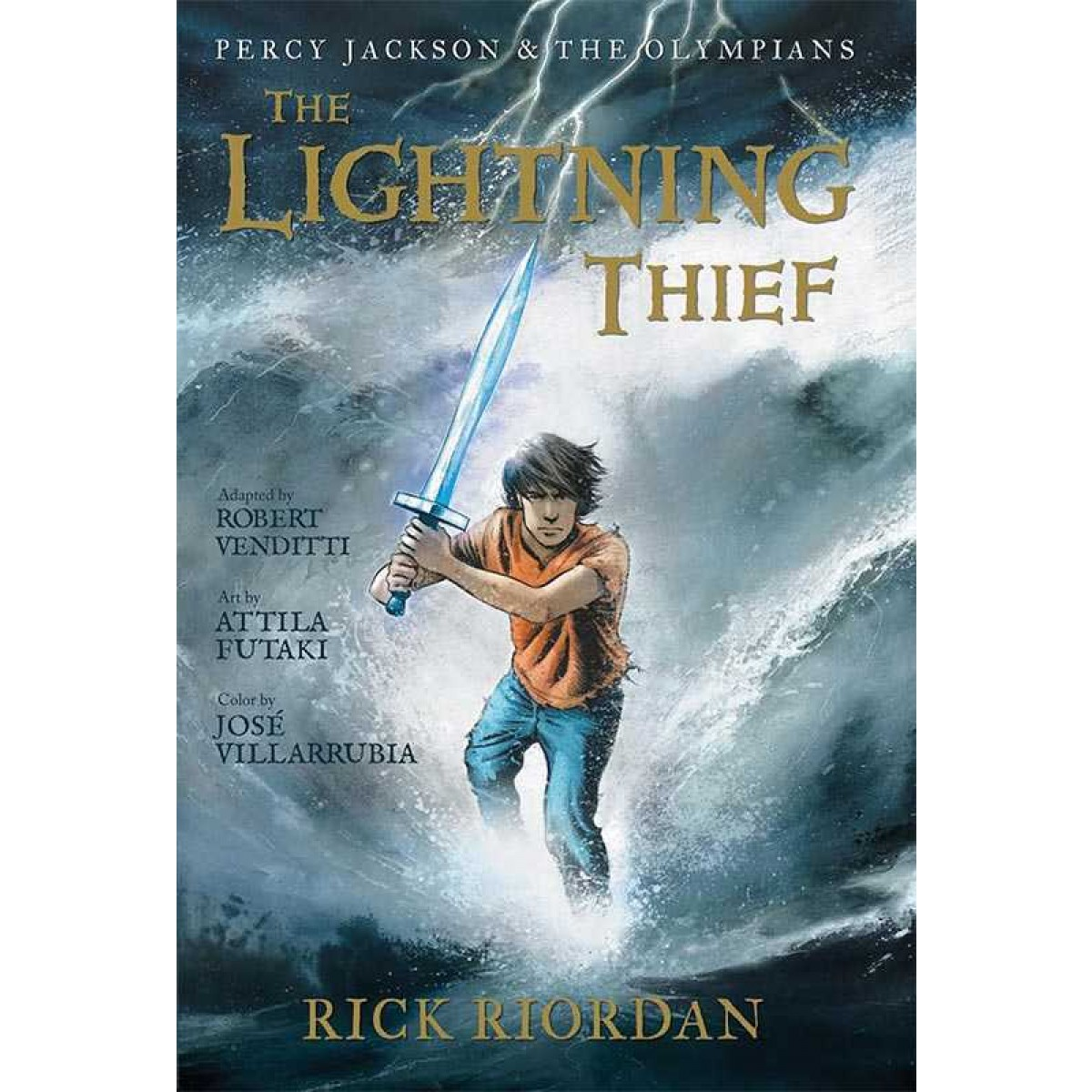 Percy Jackson And The Olympians The Lightning Thief The