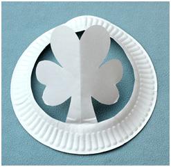 Shamrock Paper Hat