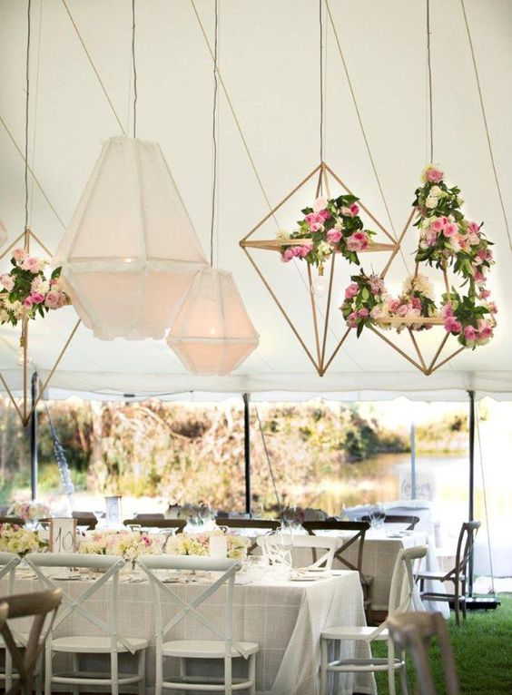 Geometric Hanging Decor