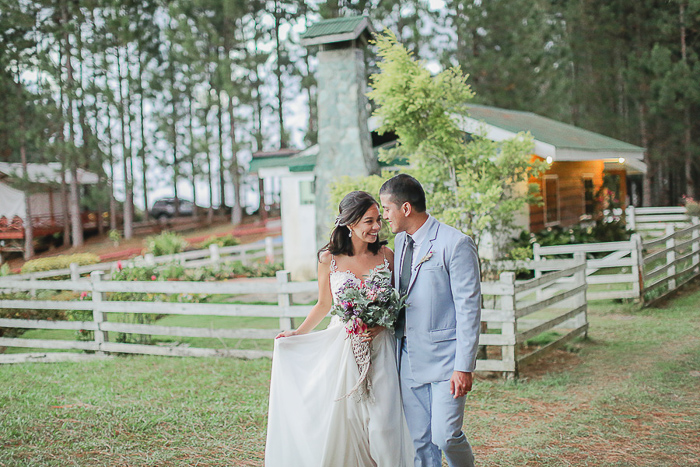 Kat & Jerrold's Bohemian Garden Wedding by Bryan Venancio