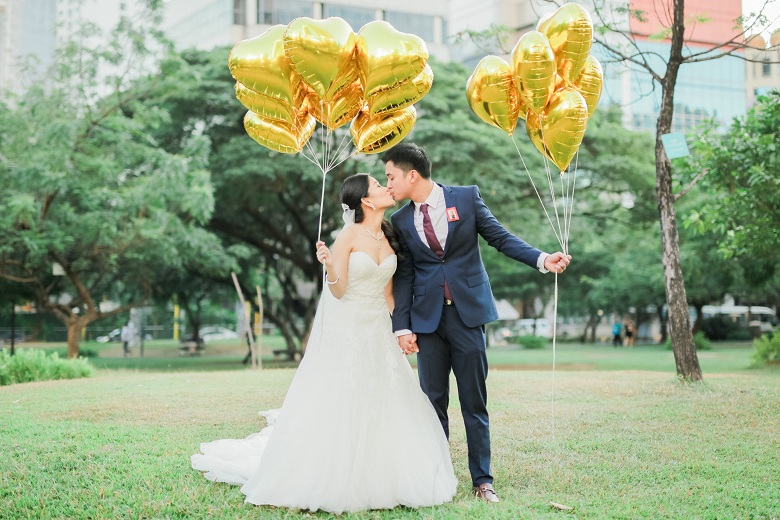 Sheena & Renz's Romantic Quirky Wedding by Manny and April Photography