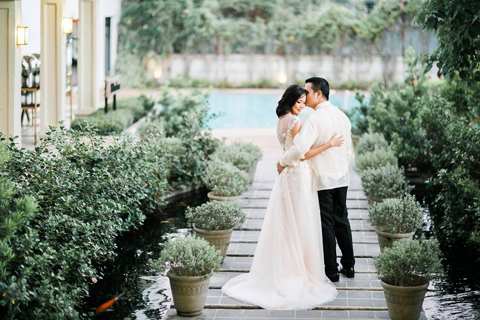 Mariann & Khasmir's Blush and Mint Wedding by SuperSeven Studio