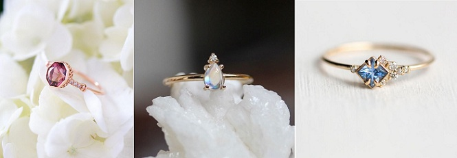 10 Dainty Engagement Rings You Need to See on Instagram