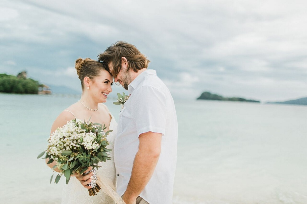 Marnie & Cory's Intimate Davao Beach Wedding by Confetti Story