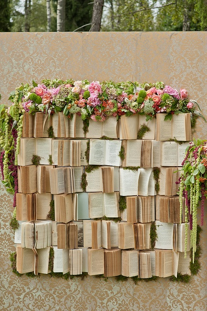 old books backdrop