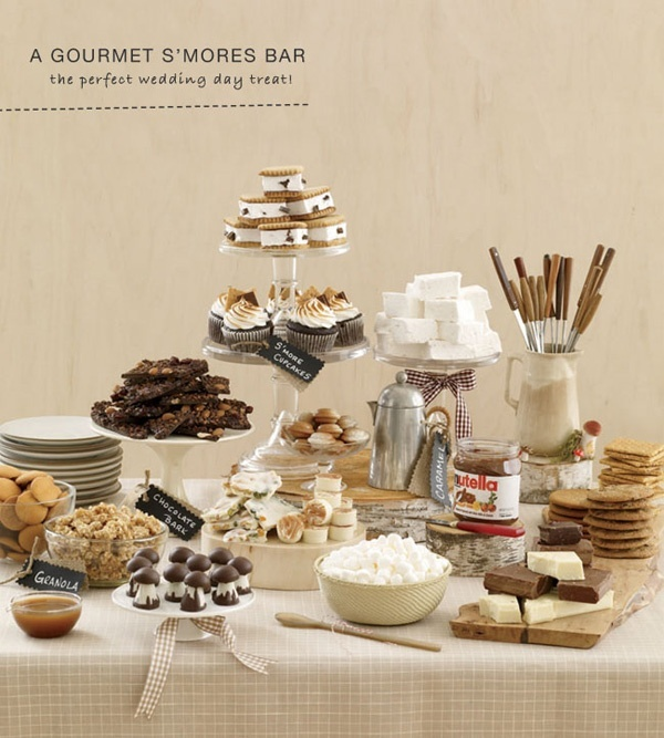 Southern Wedding Reception Food: Sweeten Up Your Wedding Reception: Dessert Tables And