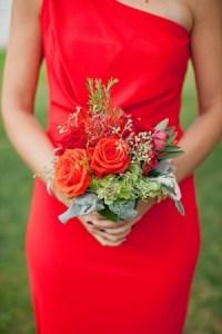 Poppy Red Bridesmaid