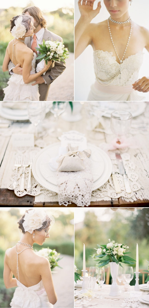 Lace and Pearls Wedding 9